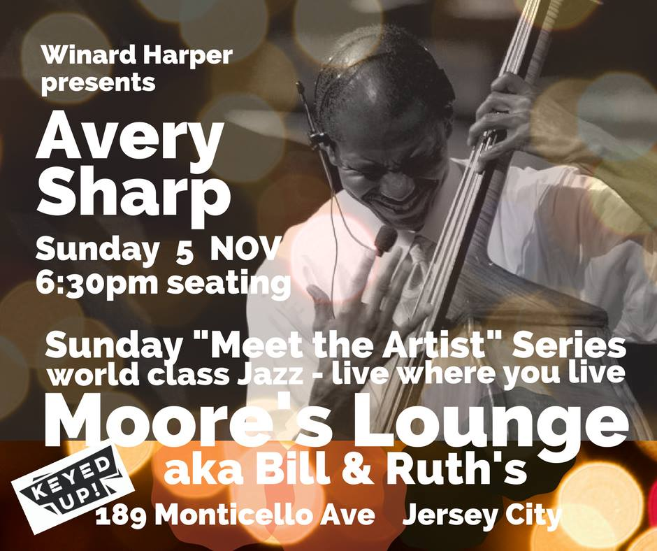 Sunday Jazz Session - Avery Sharp 11-5 promo
